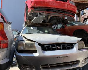 Μεταχειρισμένο αυτοκίνητο Hyundai Accent GL 1999 1300 Κυβικά | Autoscrap - ΧΡΗΣΤΟΣ ΛΑΒΔΑΡΑΣ & ΥΙΟΙ Ο.Ε | Ανακύκλωση , Απόσυρση Αυτοκινήτων, Καταστροφή Αυτοκινήτων, Διάλυση Αντικειμένων -