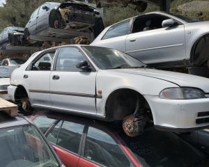 Μεταχειρισμένο αυτοκίνητο Honda Civic 1992 ESI 1600 Κυβικά | Autoscrap - ΧΡΗΣΤΟΣ ΛΑΒΔΑΡΑΣ & ΥΙΟΙ Ο.Ε | Ανακύκλωση , Απόσυρση Αυτοκινήτων, Καταστροφή Αυτοκινήτων, Διάλυση Αντικειμένων -