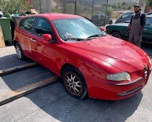 Μεταχειρισμένο αυτοκίνητο Alfa Romeo 147  2001 1600 Κυβικά 120 Ίπποι | Autoscrap - ΧΡΗΣΤΟΣ ΛΑΒΔΑΡΑΣ & ΥΙΟΙ Ο.Ε | Ανακύκλωση , Απόσυρση Αυτοκινήτων, Καταστροφή Αυτοκινήτων, Διάλυση Αντικειμένων -