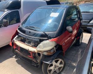 Μεταχειρισμένο αυτοκίνητο  SMART FOR 2 2001  Κυβικά 600cc  Ίπποι 45HP   Autoscrap - ΧΡΗΣΤΟΣ ΛΑΒΔΑΡΑΣ & ΥΙΟΙ Ο.Ε   Ανακύκλωση , Απόσυρση Αυτοκινήτων, Καταστροφή Αυτοκινήτων, Διάλυση Αντικειμένων -